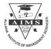 Allana Institute of Management Sciences Logo in jpg, png, gif format