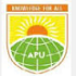 Apex Professional University Logo in jpg, png, gif format