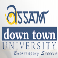 Assam Down Town University Logo in jpg, png, gif format